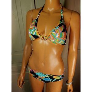 NWT Trina Turk bikini top swim bathing suit
